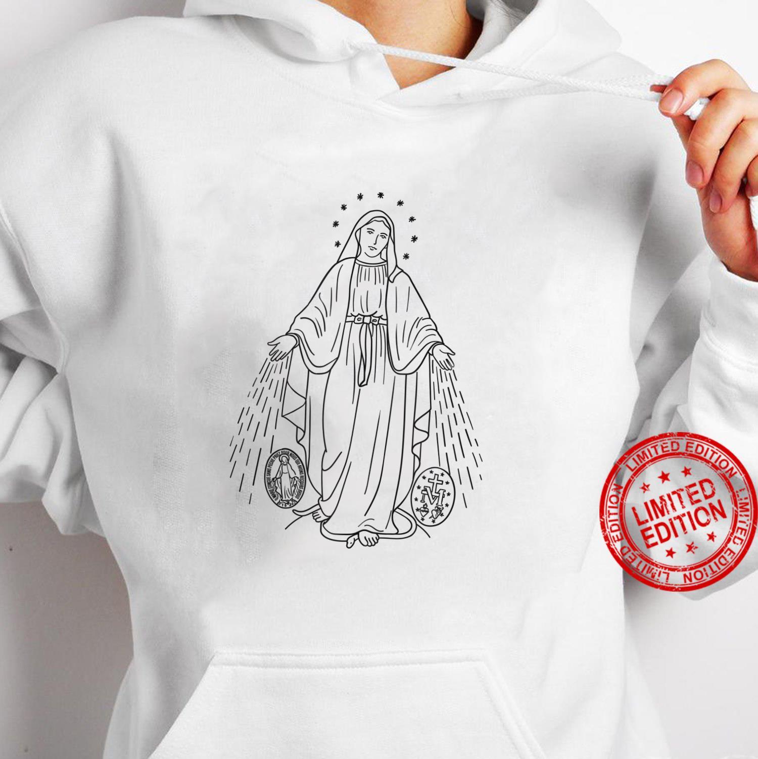 Our Lady of Grace Virgen de la Medalla Milagrosa Shirt hoodie