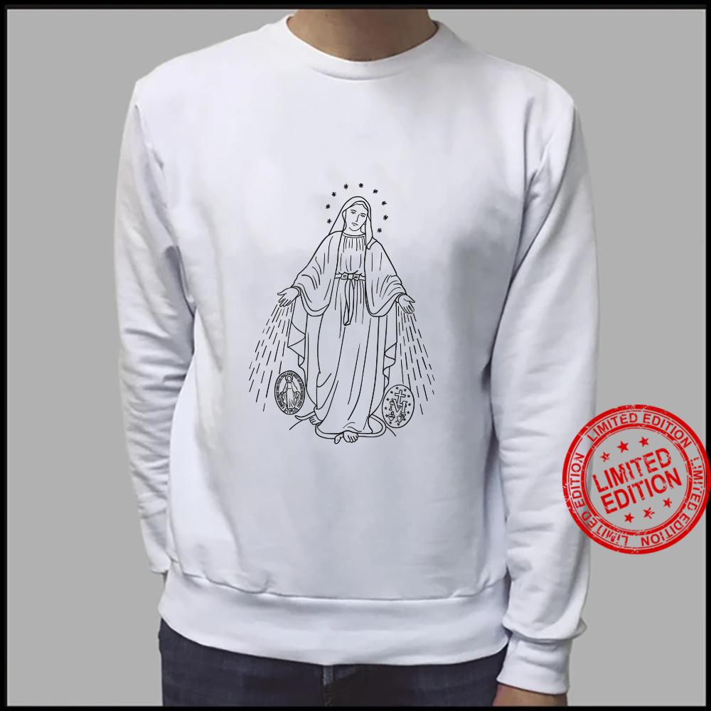 Our Lady of Grace Virgen de la Medalla Milagrosa Shirt sweater