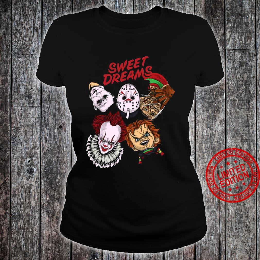 Sweet Dreams Horror Shirt ladies tee
