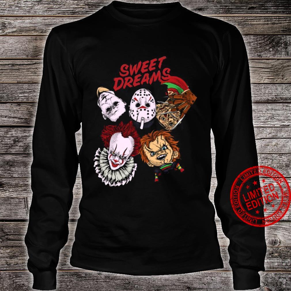 Sweet Dreams Horror Shirt long sleeved