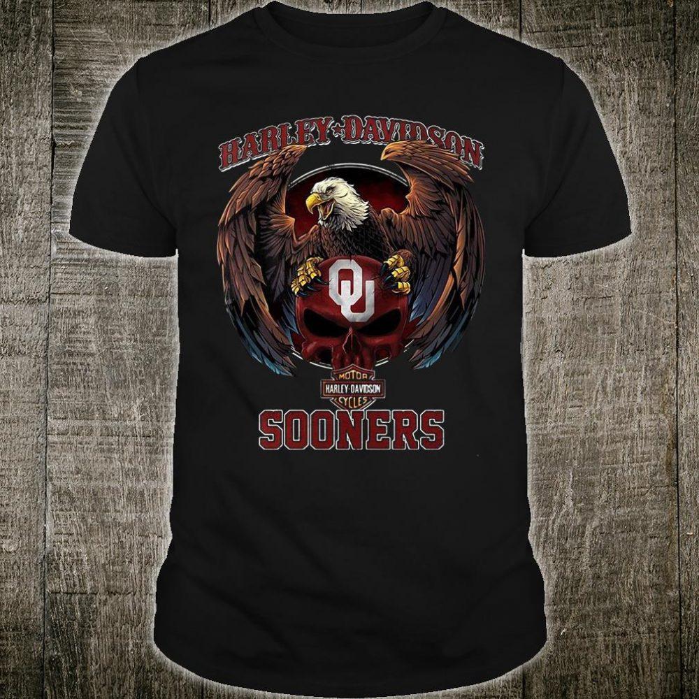 Harley Davidson Sooners shirt