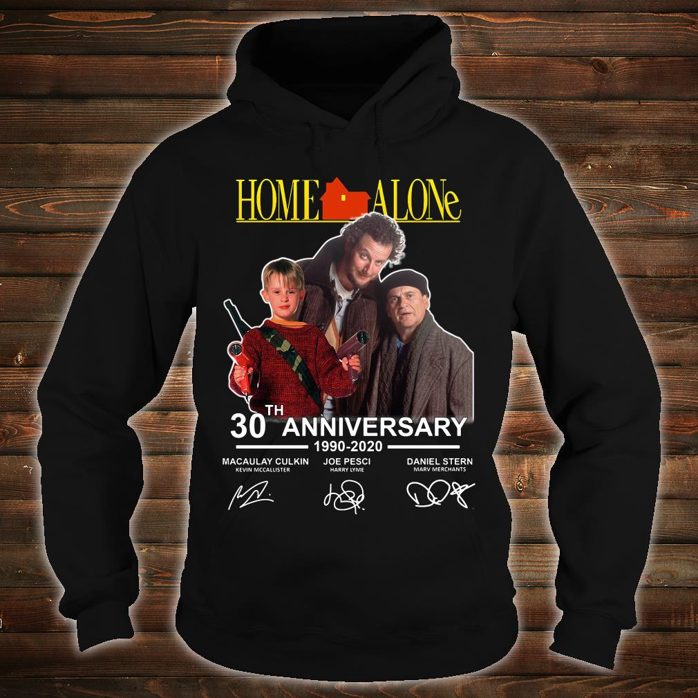 Home Alone 2020.Home Alone 30th Anniversary 1990 2020 Signatures Shirt
