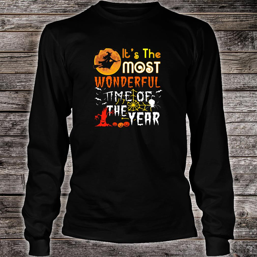 It's the most wonderful time of the year shirt long sleeved