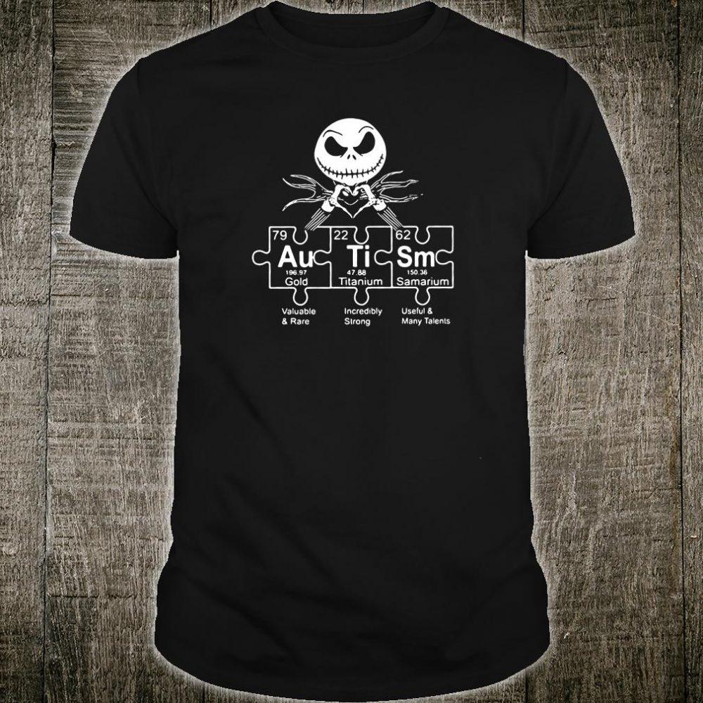 Jack Skellington autism shirt