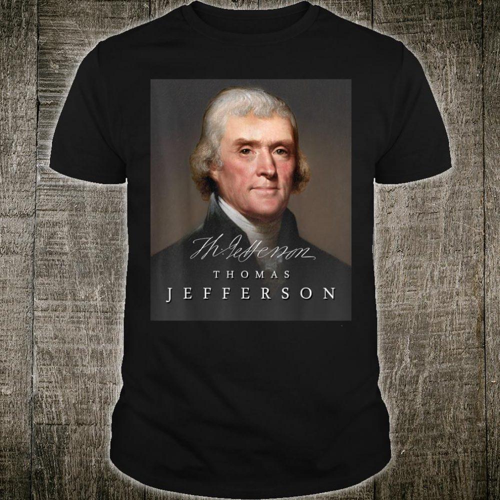 July 4th Founding Father Thomas Jefferson Liberty Shirt