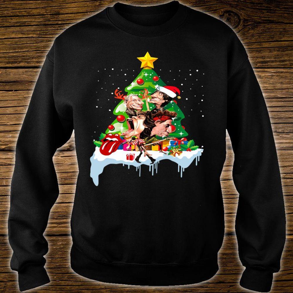 Rock N Roll Christmas Tree: Official Rock N Roll Christmas Tree Shirt, Hoodie, Tank