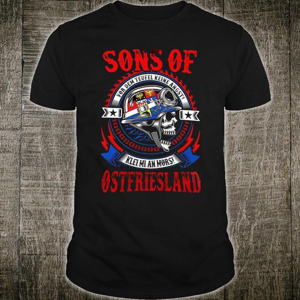Sons of Vor dem teufel keine angst klei mi ann mors ostfriesland shirt