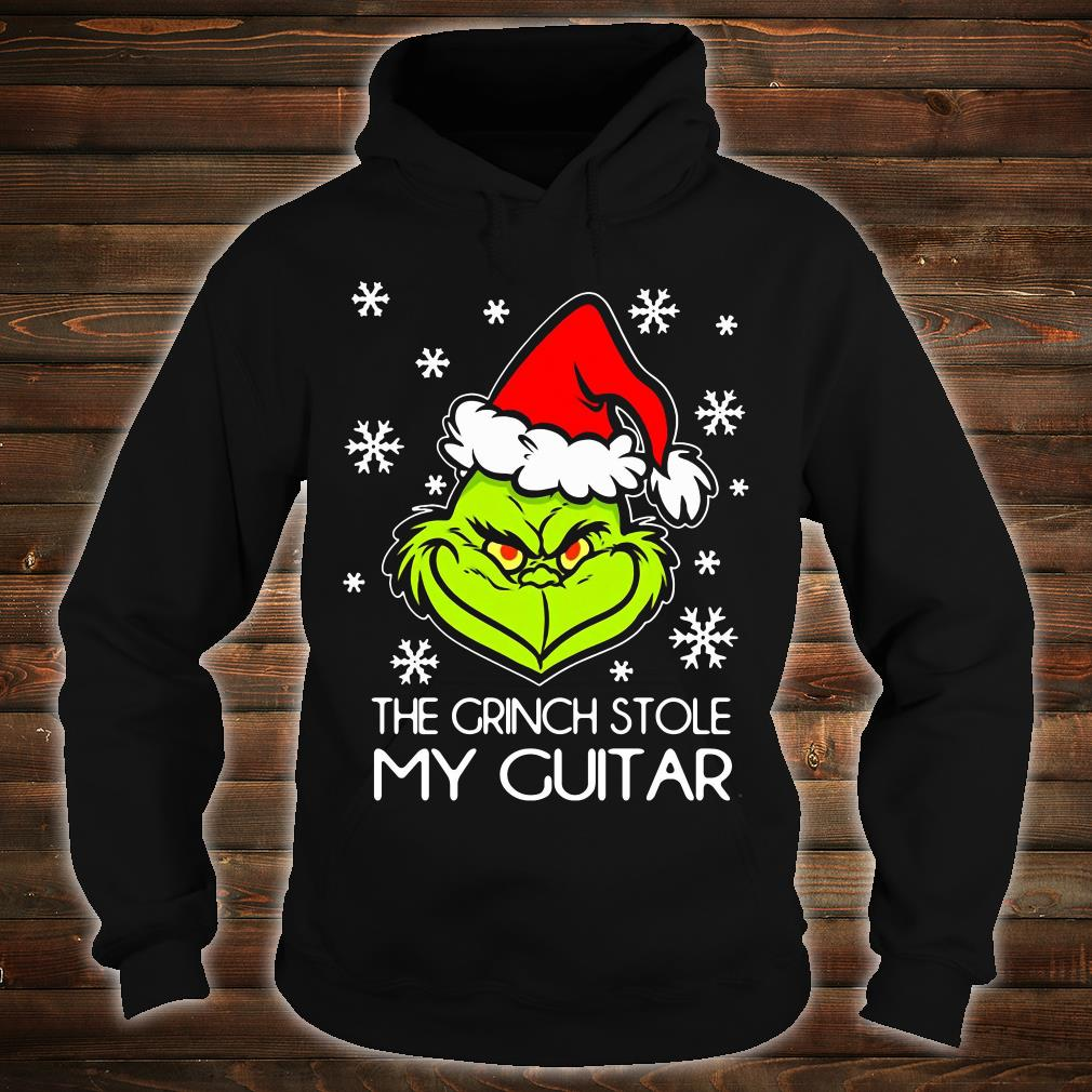 The Grinch stole my guitar shirt hoodie